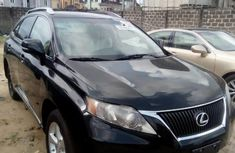 Lexus RX 2011 Petrol Automatic Black for sale
