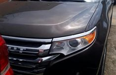 Ford Edge 2011 Brown color for sale
