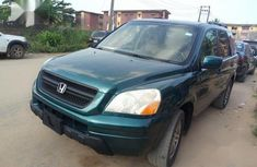 Honda Pilot 2005 Green for sale