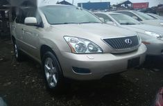Lexus RX 2009 Gold color for sale
