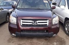 Honda Pilot 2007 EX-L 4x4 (3.5L 6cyl 5A) Red for sale