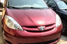 Toyota Sienna 2008 LE AWD Red for sale