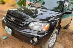 Toyota Highlander Limited V6 4x4 2004 Black for sale