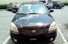 Kia Rio 2009 Petrol Automatic Black for sale