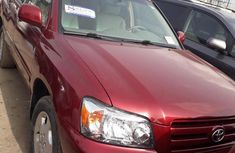 Toyota Highlander 2005 Limited V6 Red for sale