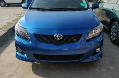Toyota Corolla 2010 Blue color for sale