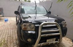Very good Nissan Frontier 2004 black color for sale