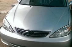 Toyota Camry 2004 Silver color for sale