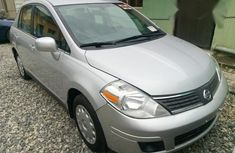 Nissan Versa 2007 Silver color for sale