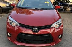 Very clean Toyota Corolla 2014 Red for sale