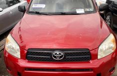 Newly arrived Toyota RAV4 2008 Red for sale
