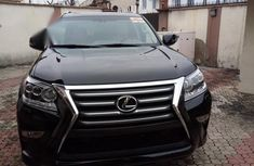 Super sharp Lexus GX 2014 Black color for sale