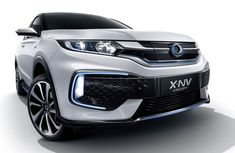 World premiere of the X-NV Concept - Honda's second China-exclusive EV