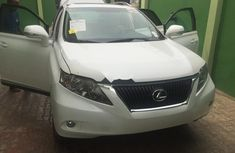 Lexus RX 2011 White for sale