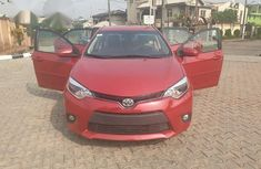 Toyota Corolla 2016 Red color for sale