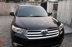 Toyota Highlander 2012 Limited Black for sale
