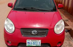 Very cleanKia Picanto 2003 Red color for sale