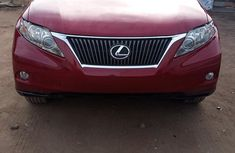 Lexus RX 350 2010 Red for sale