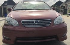 Toyota Corolla S 2006 Red color for sale