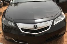 Very neat Acura TL 2013 Black color for sale