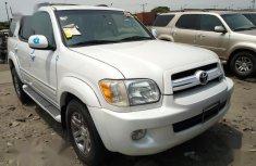 Toyota Sequoia 2005 White color for sale