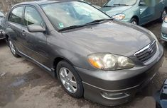 Toyota Corolla 2012 Gray color for sale
