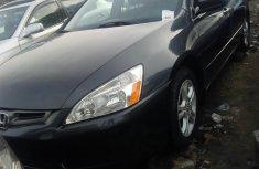 Honda Accord 2004 black color for sale