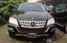 Mercedes-benz Ml350 2011 Black for sale