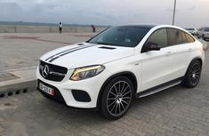 Mercedes-Benz GLE-Class 2018 White for sale