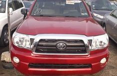 Toyota Tacoma 2007 Red color for sale