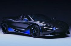 The customized McLaren 720S Spider takes 260 hours of painting job