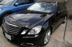 Mercedes-Benz 200E 2013 Black for sale