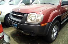 Nissan Xterra 2002 Red for sale