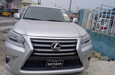 Very sound and neat Lexus GX 2014 Silver for sale