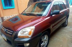 Kia Sportage 2008 Red for sale