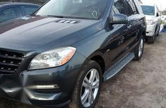 Mercedes Benz Ml350 2013 Gray for sale