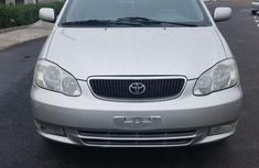 Toyota Corolla 2007 Silver color for sale