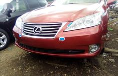 Lexus ES350 2011 Red for sale
