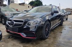 Mercedes-Benz E63 2013 Black for sale
