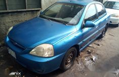 First body Kia Rio 2004 Blue color for sale