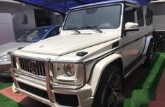 Mercedes-Benz G63 2013 White for sale