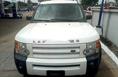 Land Rover LR3 Petrol 2008 White for sale