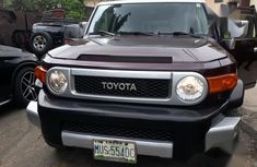 Ultra clean Toyota FJ Cruiser 2007 Brown color for sale