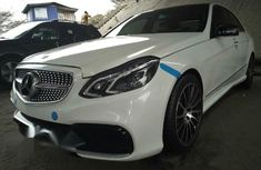 Mercedes Benz E63 2014 White for sale