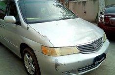 2001 Honda Odyssey Silver for sale