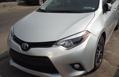 Toyota Corolla 2016 Silver for sale