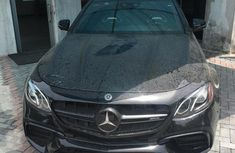 New Mercedes-Benz E63 2018 Black for sale