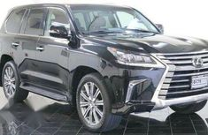 Super clean Lexus LX 2017 Black for sale