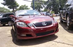 Lexus GS 2011 350 Red for sale