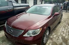 Lexus LS 460 2008 Red for sale